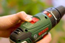 Bosch PSB 18 LI-2 Akkuschrauber Praxistest - Zusatzfunktionen